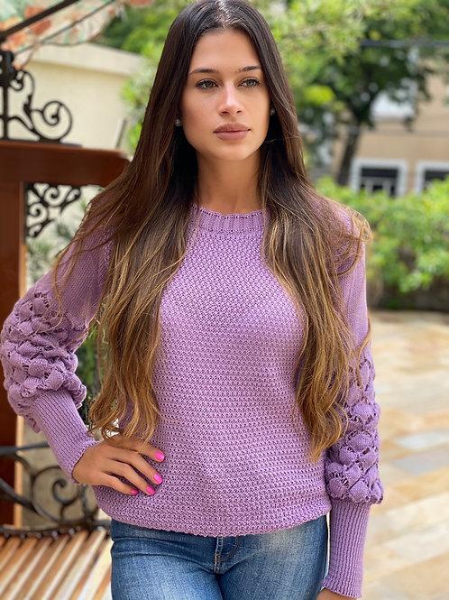 Tricot Gabi lilás