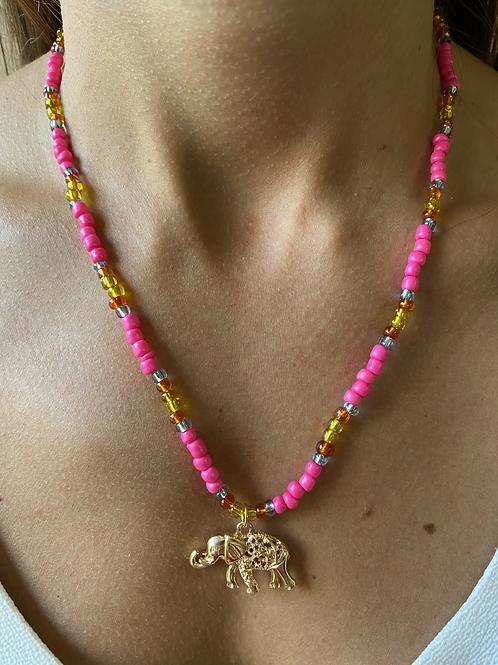 Colar Bali Pink