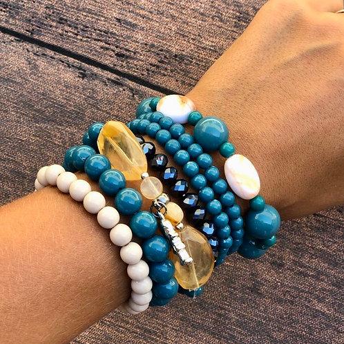 Mix de pulseiras Bali