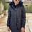 Thumbnail: Casaco Nylon e pelo preto