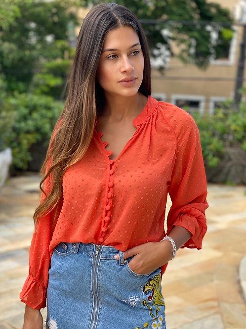 Camisa Flávia Coral