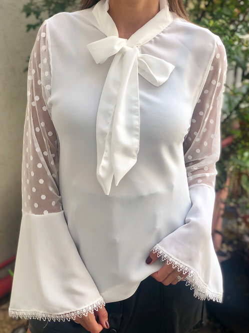 Blusa Marina Branca