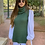 Thumbnail: Colete Tricot verde
