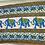 Thumbnail: Canga Toalha Elefantes azul