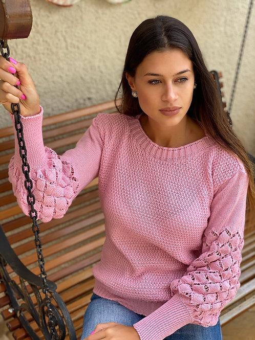 Tricot Gabi rosa