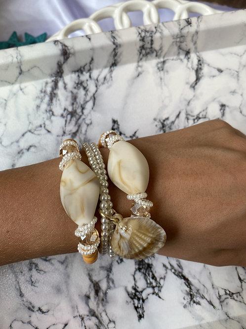 Mix de pulseiras Pearl