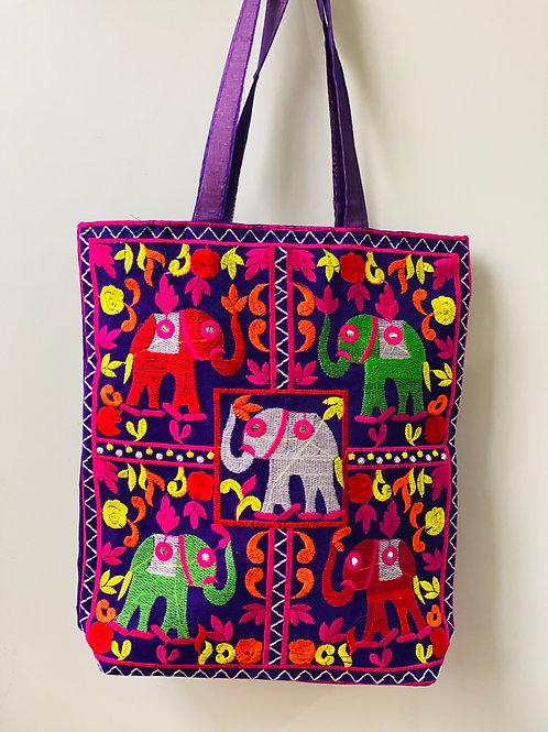 Bolsa Elefante Roxa
