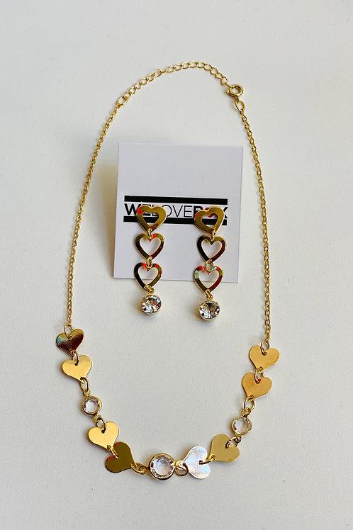 Conjunto Delicate Dourado