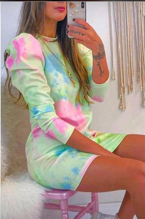 Vestido Tie dye Marina