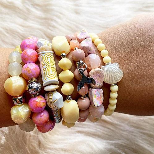 Mix de pulseiras Delicate