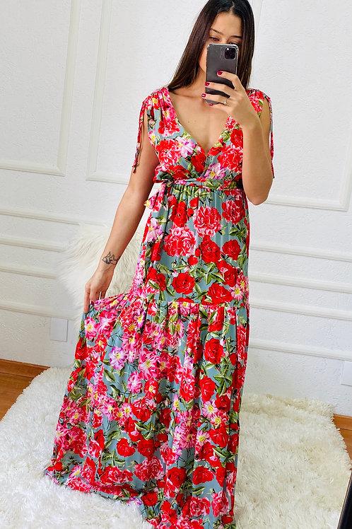 Vestido Marina Flores
