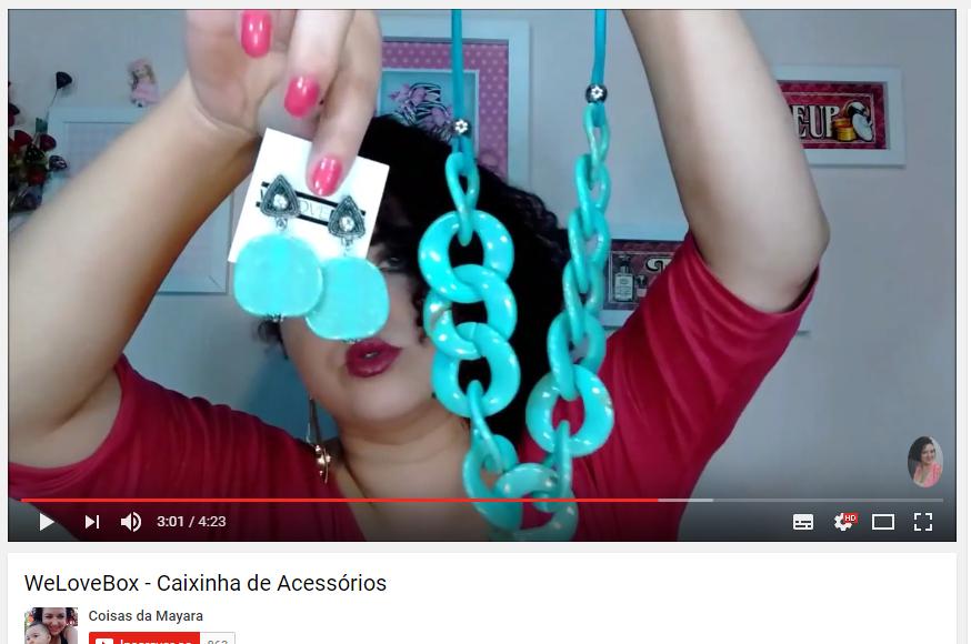 Canal do Youtube Coisas da Mayara