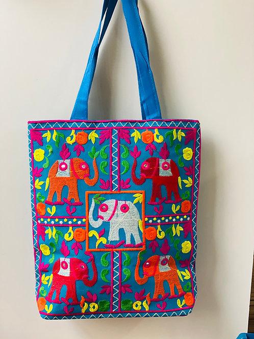 Bolsa Elefante Azul