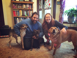 Harmony and her new family!