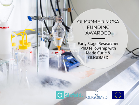 Sixfold and OLIGOMED partners join forces in EU consortium to develop oligonucleotide therapeutics