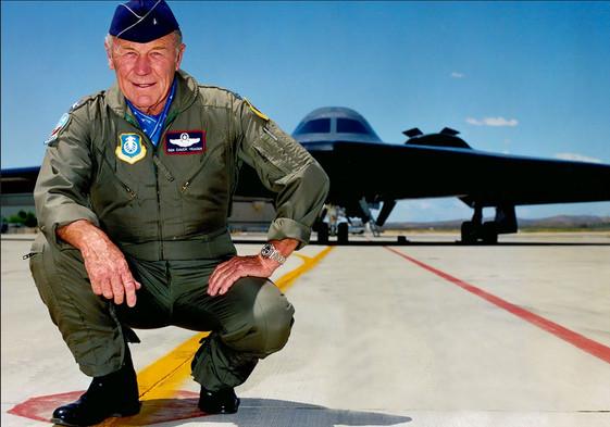USAF General Chuck Yeager endorses Donald J. Trump