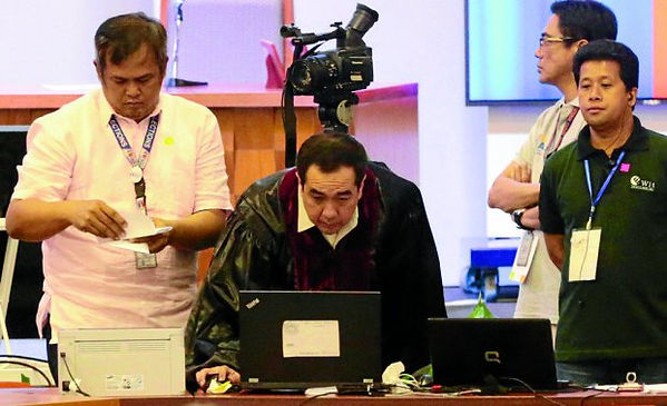 WIT Philippines engineer supports COMELEC satellite transmission of election returns