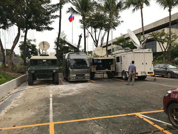 WIT VSAT assets lent to Philippine Presidential Security Group