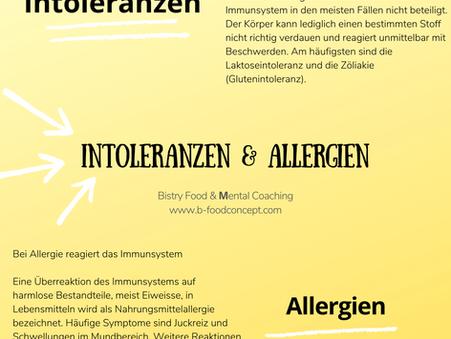 Intoleranzen & Allergien
