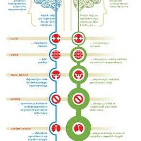 Carol Dweck in njena teorija miselnosti (mindseta)