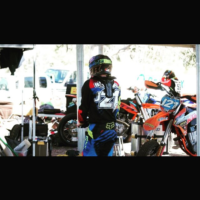 Love this sport. Stoked I have some great people behind me. _ktm