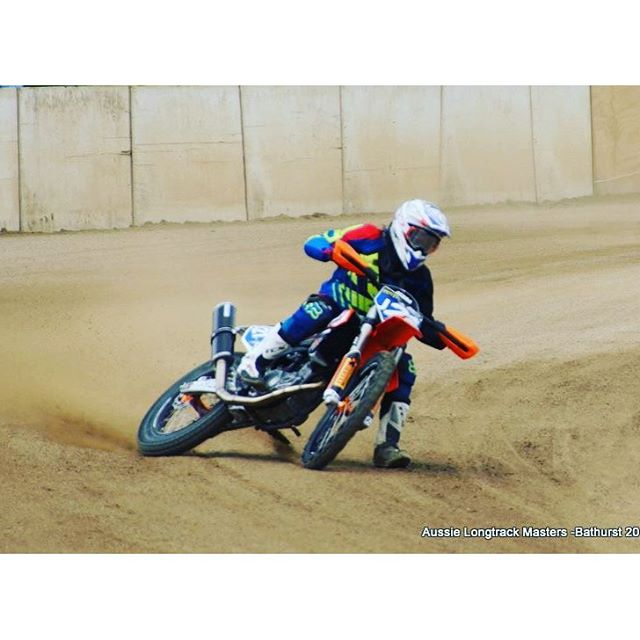 Had an awesome time yesterday racing at the Australian Long Track Masters in Bathurst
