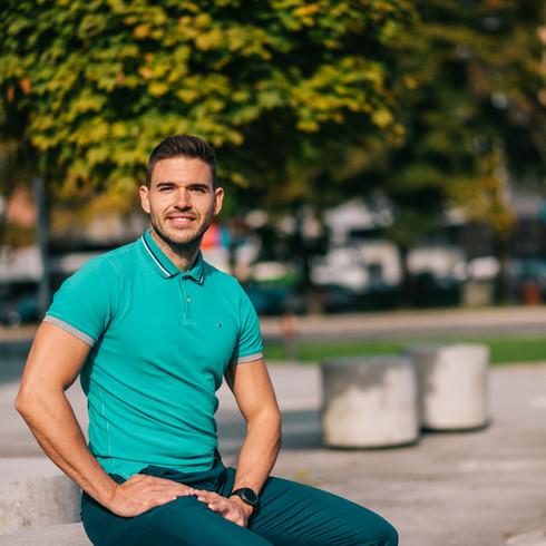 Portret osebnega trenerja: Tadej Kugonić