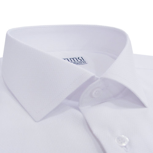 100% cotton white formal shirt