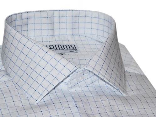 100% cotton white business shirt