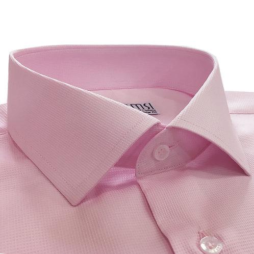 100% բամբակե բաց վարդագույն վերնաշապիկ
