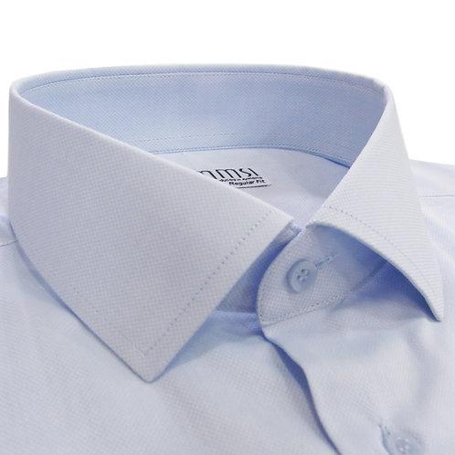100% cotton light blue formal shirt
