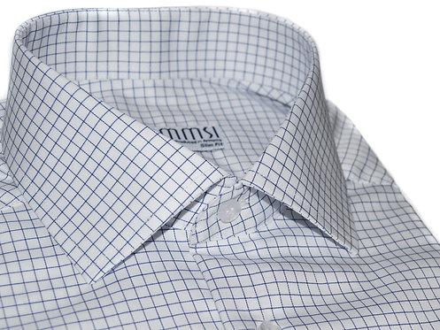 100% Cotton White Dobby Formal Shirt