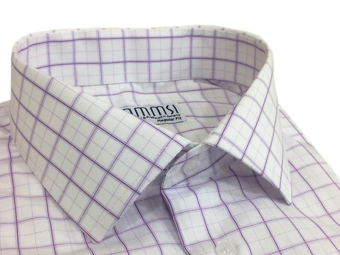 100% cotton Check Button Cuff Shirt