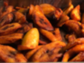 Fried Plantains - sweet , savoury and the perfect compliment