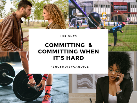 Insights: Commitment and Committing when it's hard