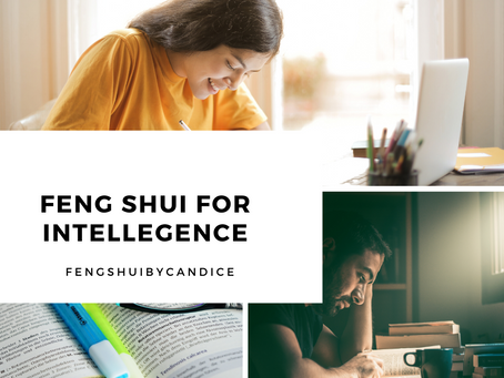 Activating intelligence: Feng Shui for Studying