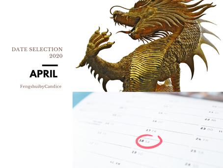 April Date Selection