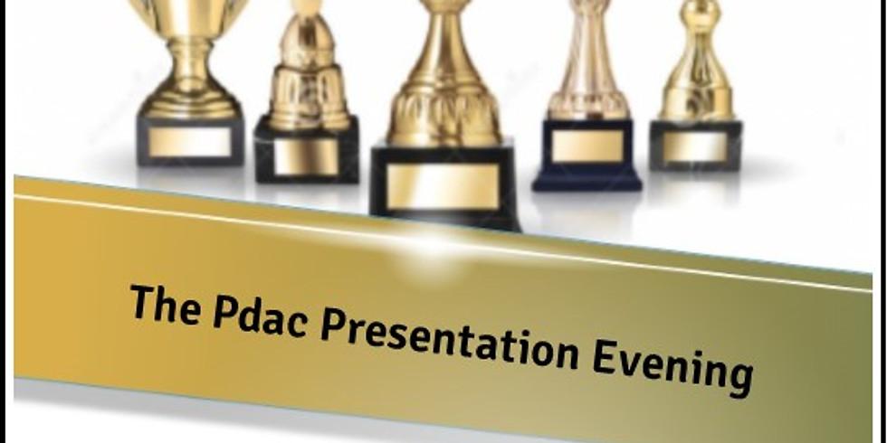 Presentation Evening - CANCELLED!