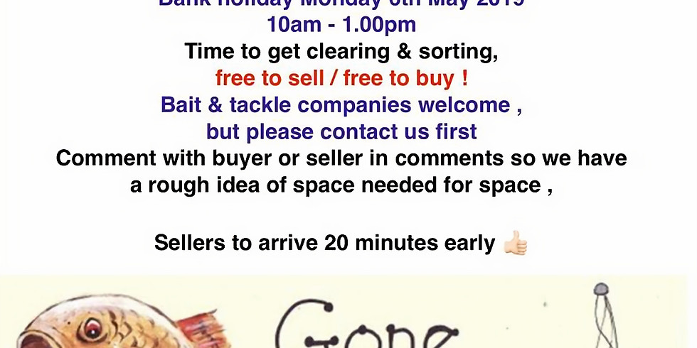 Broadlands Lakes Tackle Sale