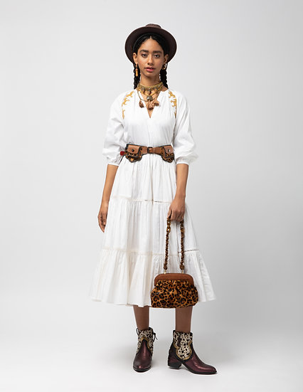 The Gathered Summer Dress