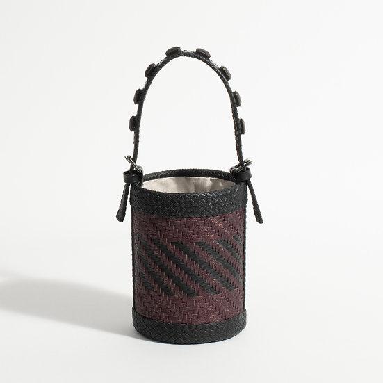 The Mini woven bucket