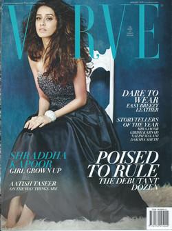 VERVE (Cover) - JANUARY, 2015