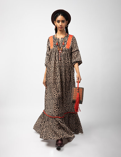 The Short Yoke Maxi Dress