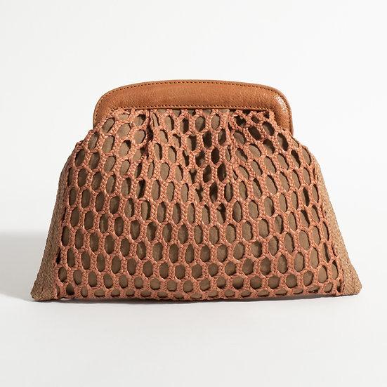 The Raffia Hand woven clutch