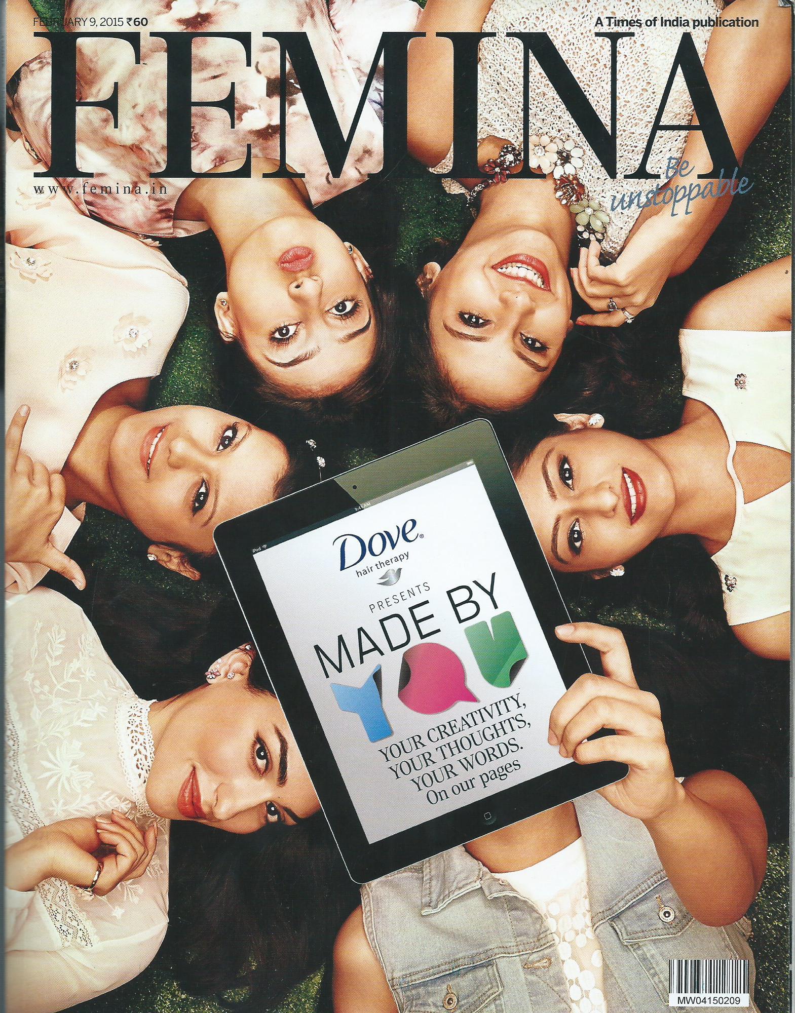 Femina - February(Cover) , 2015