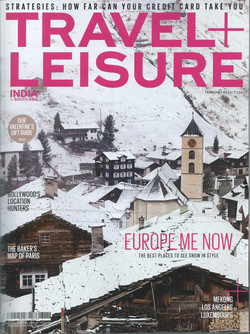 TRAVEL + LIESURE (cover) - 13th February,2015