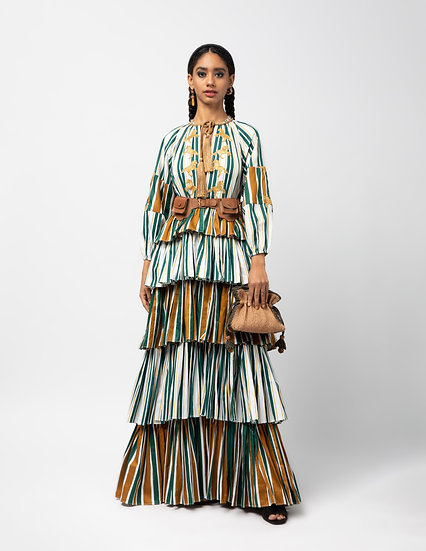 The Tiered Maxi Dress