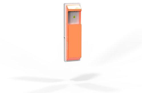 AUTOMATIC disinfectant and liquid soap dispenser