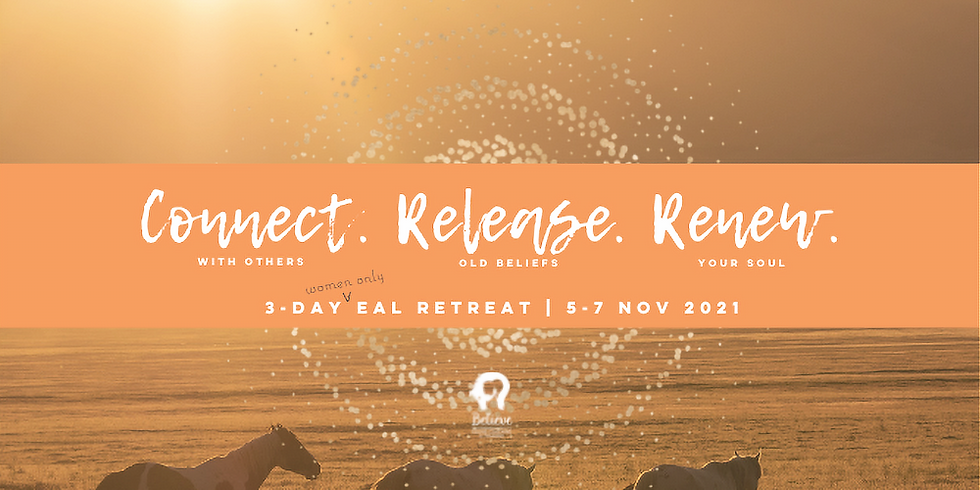 Connect. Release. Renew. | 3-day EAL Retreat