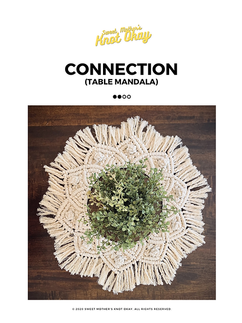 MACRAME x Connection Mandala